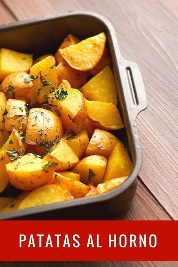 Patatas al horno recetas de cocina - Tiempo para cocer patatas ...