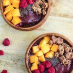 como hacer acai bowl receta facil