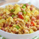 arroz con jamon puerto rico